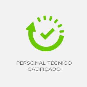 personal tecnico calificado