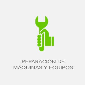 servicio de reparacion de maquinas y equipos
